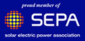 Proud Member of SEPA - Solar Electric Power Association
