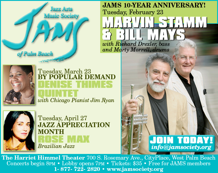 JAMS - The Jazz Arts Music Society of Palm Beach