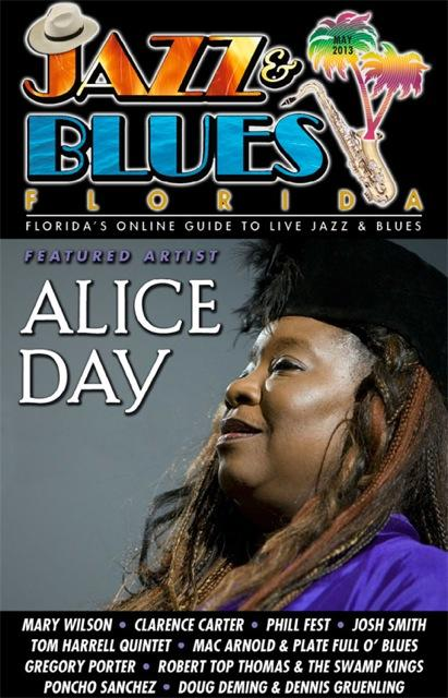 Jazz & Blues Florida May 2013 Edition