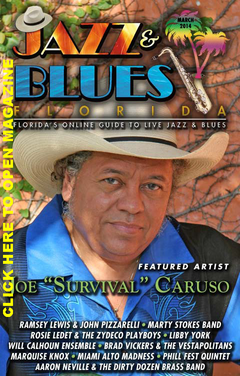 Jazz & Blues Florida March 2014 Edition
