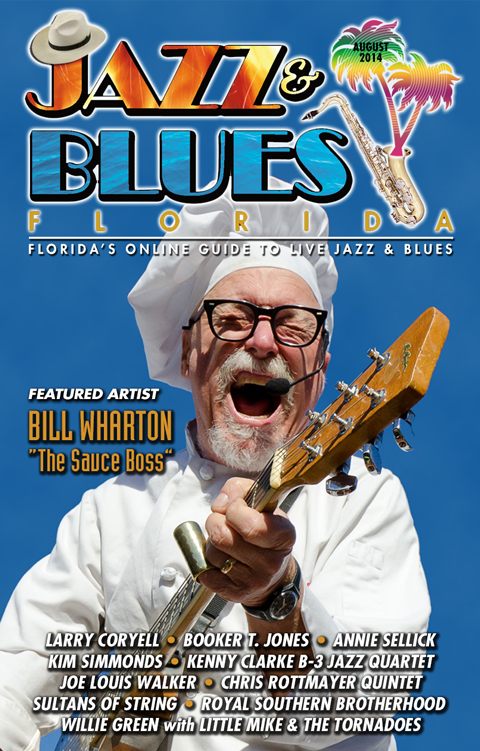 Jazz & Blues Florida August 2014 Edition