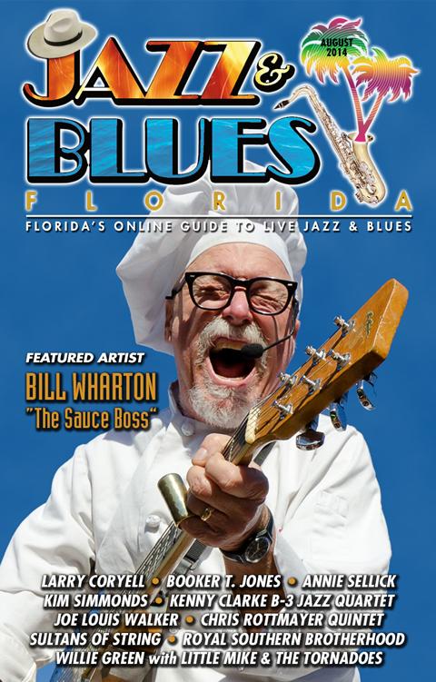 Jazz & Blues Florida August 2014 Edition