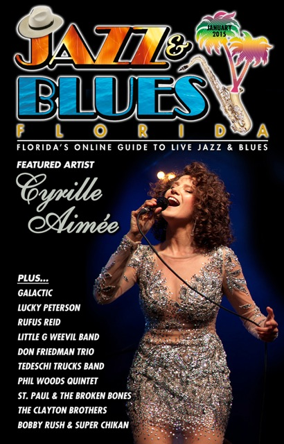 Jazz & Blues Florida January 2015 Edition