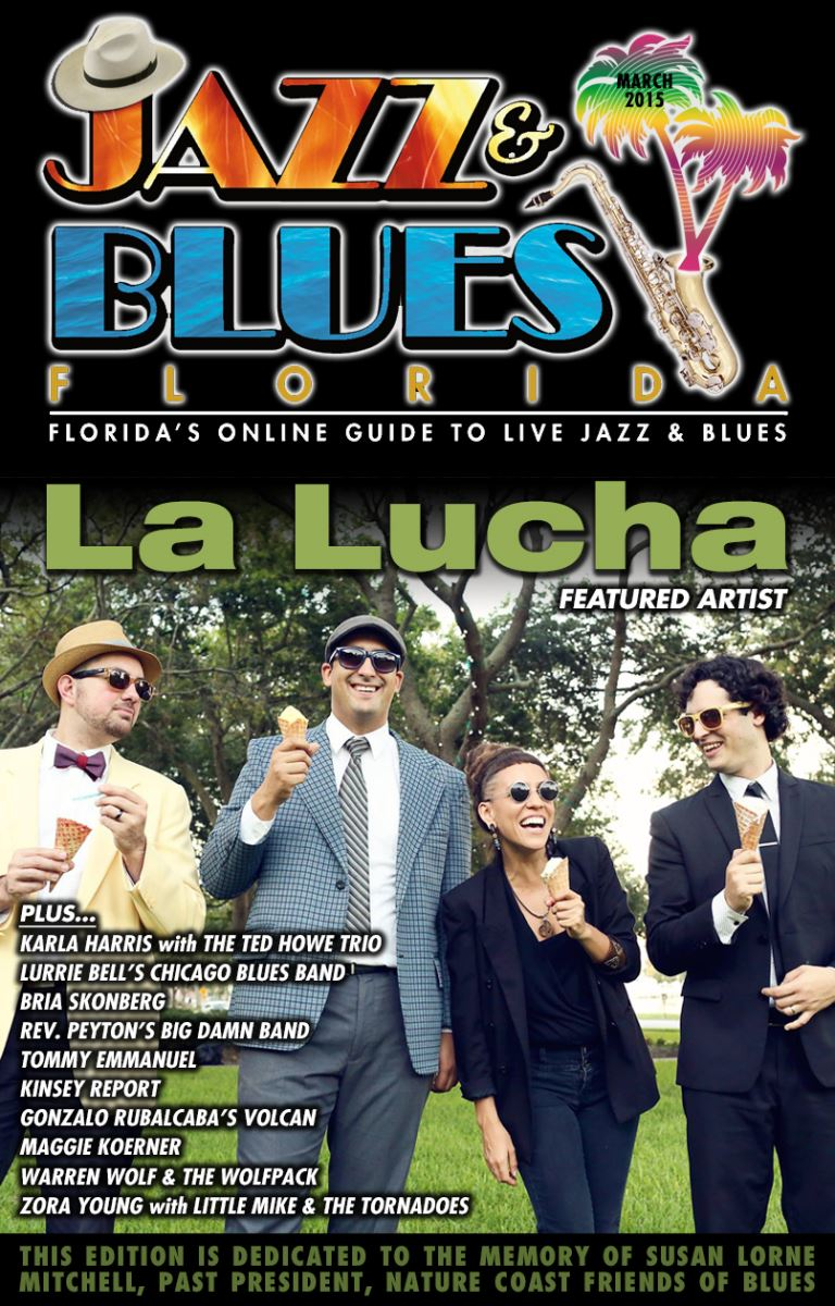 Jazz & Blues Florida March 2015 Edition