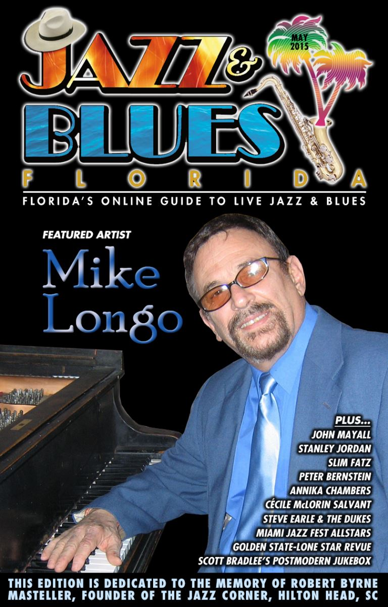 Florida's free monthly online guide to live jazz & blues in clubs, concerts and festivals. This is the companion to our news blog, email news service and our extensive event listings at www.JazzBluesFlorida.com.