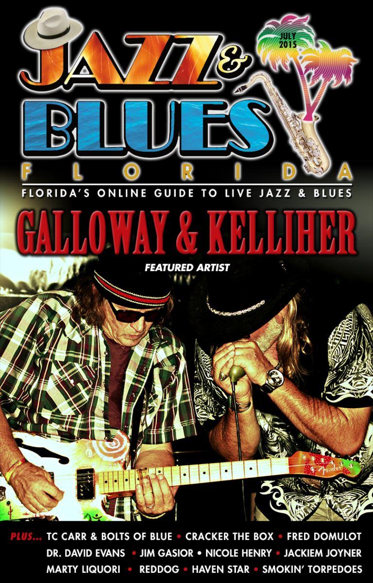 Jazz & Blues Florida July 2015 Edition