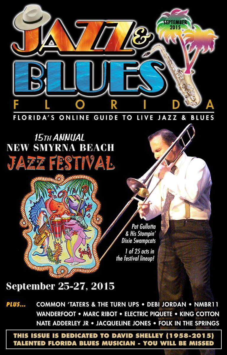Jazz & Blues Florida September 2015 Edition
