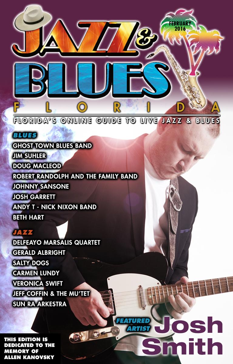 Jazz & Blues Florida February 2016 Edition