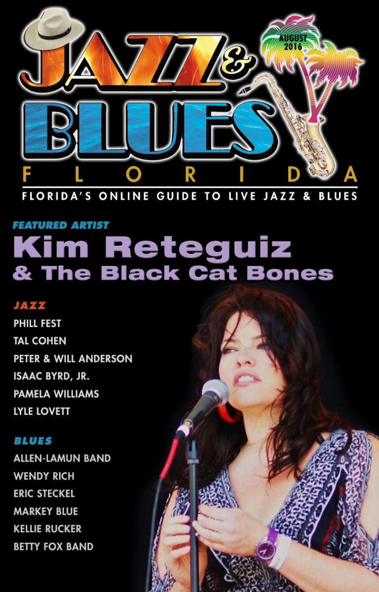 Jazz & Blues Florida July 2016 Edition