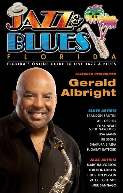 Jazz & Blues Florida October 2016 Edition