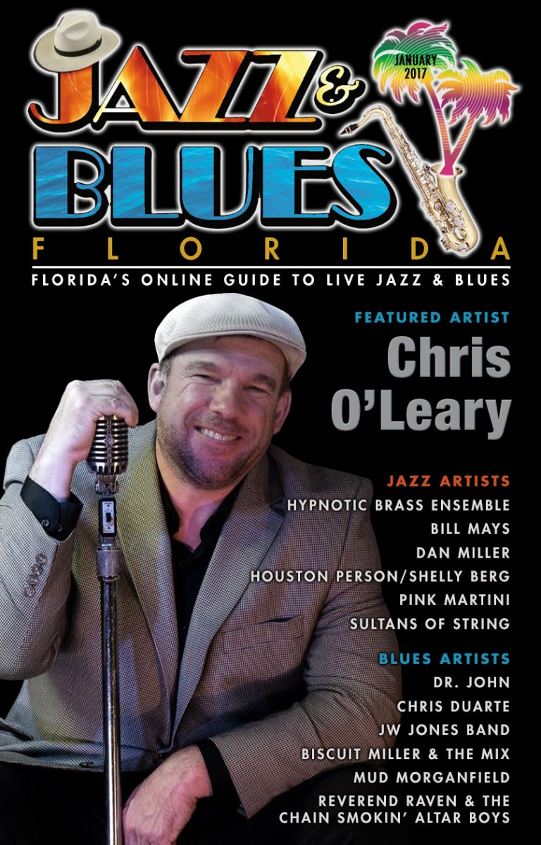 Jazz & Blues Florida January 2017 Edition