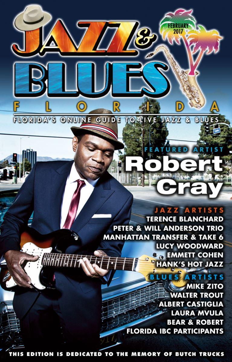 Jazz & Blues Florida February 2017 Issue