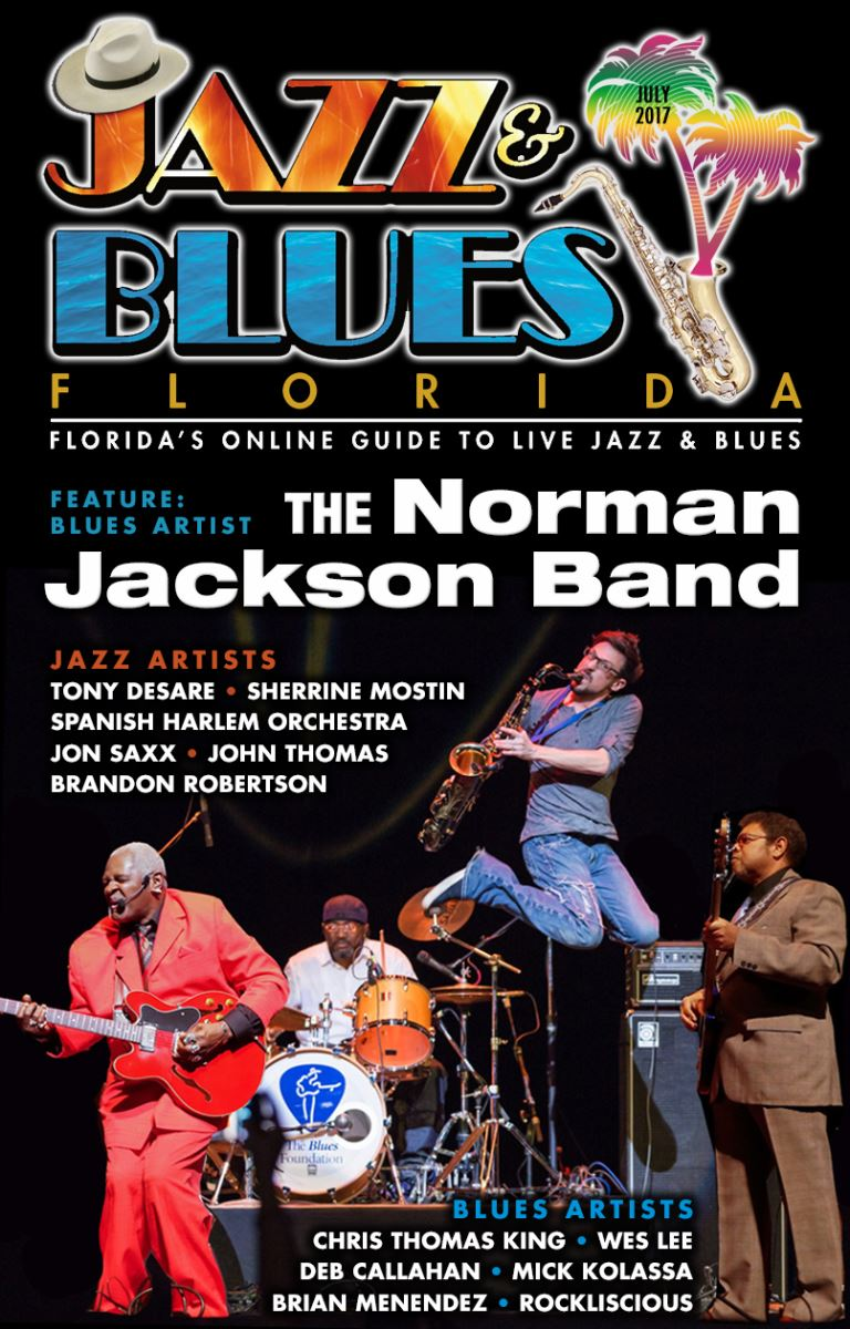 Jazz & Blues Florida July 2017 - Florida's Online Guide to Live Jazz & Blues