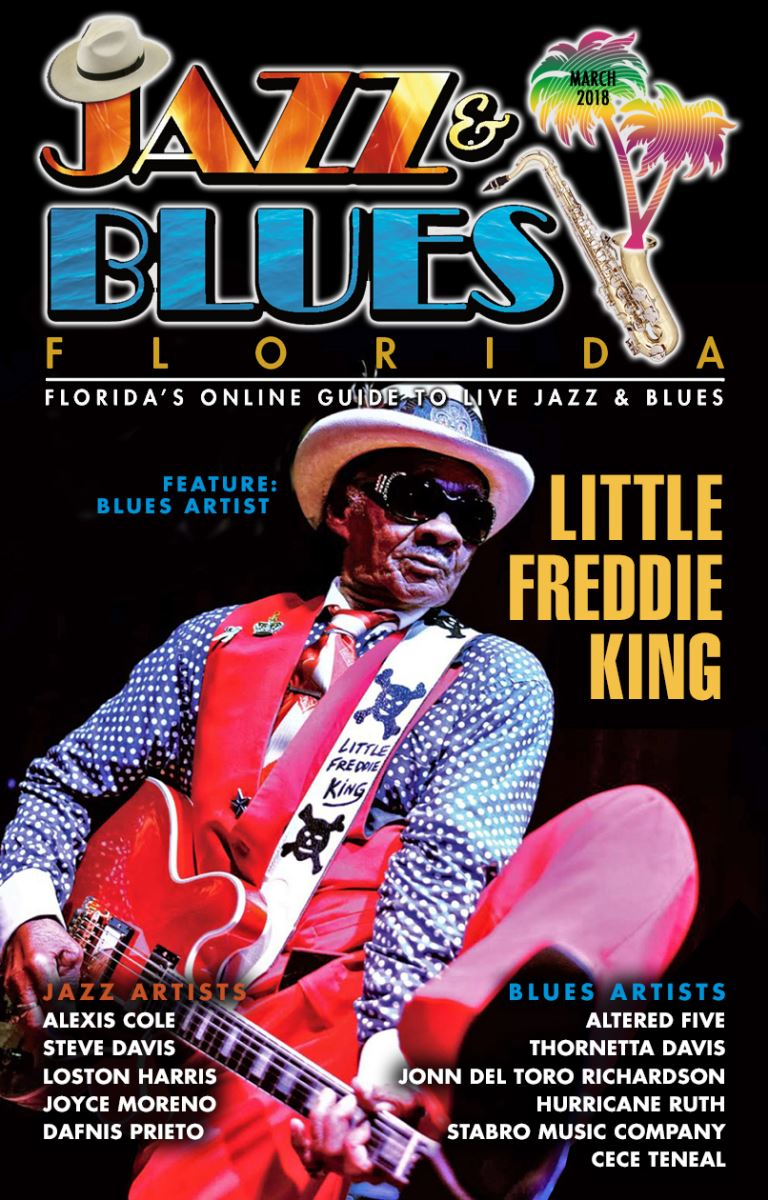 Jazz & Blues Florida March 2018 Edition