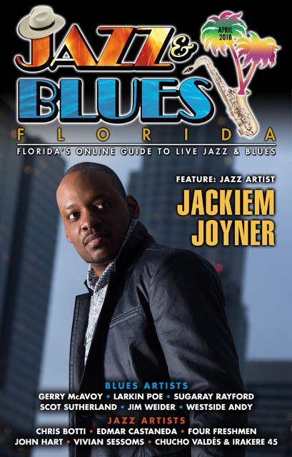 Jazz & Blues Florida April 2018 Edition