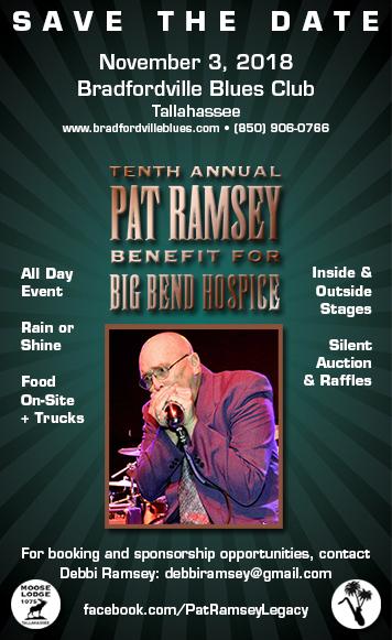 Pat Ramsey Memorial Benefit for Big Bend Hospice 2018