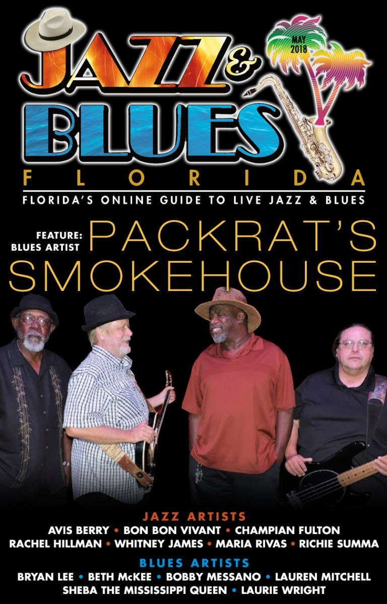Jazz & Blues Florida May 2018 Edition