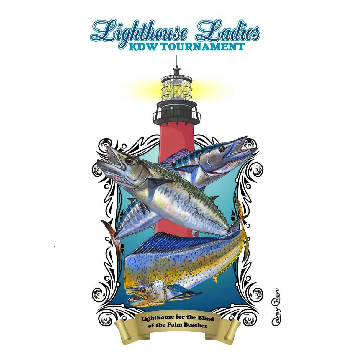 Lighthouse Ladies KDW Fishing Tournament logo